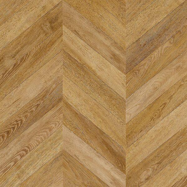 Faus 8mm Masterpiece Chevron Natural Oak Laminate Flooring