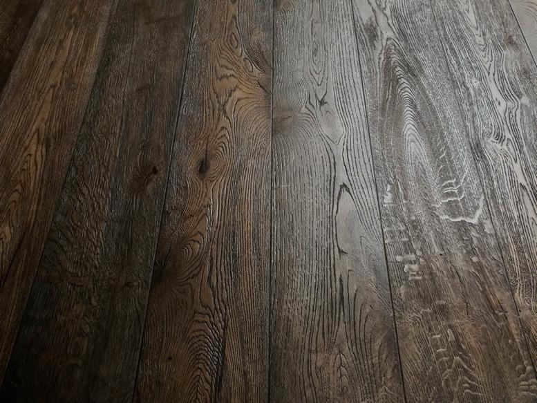 New York 15/4 x 190mm Putnam Distressed Hard Waxed Oiled Oak Engineered Flooring