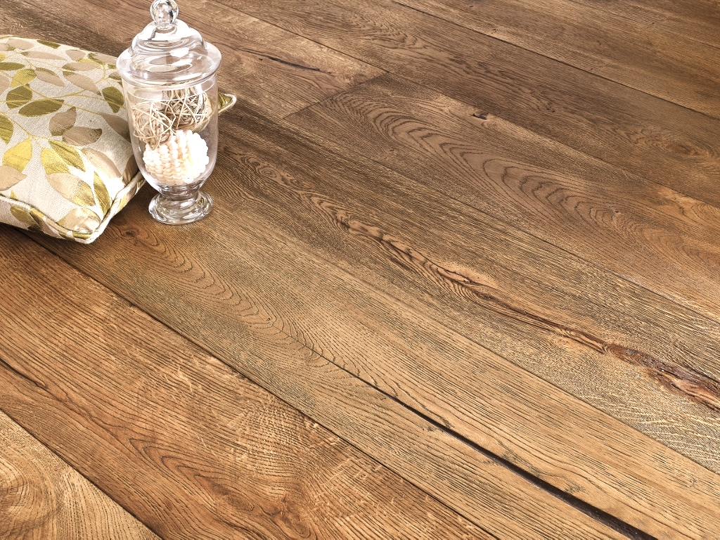 New York 15/4 x 190mm Bronx Distressed Hard Waxed Oiled Oak