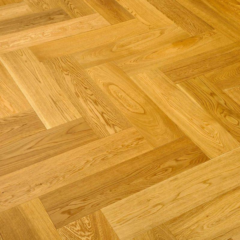 Riviera Herringbone Click 14/3 x 150mm Golden Oak Engineered Wood