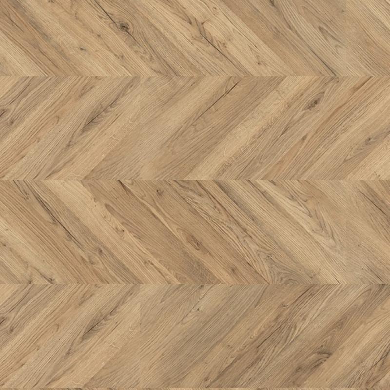 Egger Kingsize 8mm Dark Rillington Oak Laminate Chevron Flooring EPL012