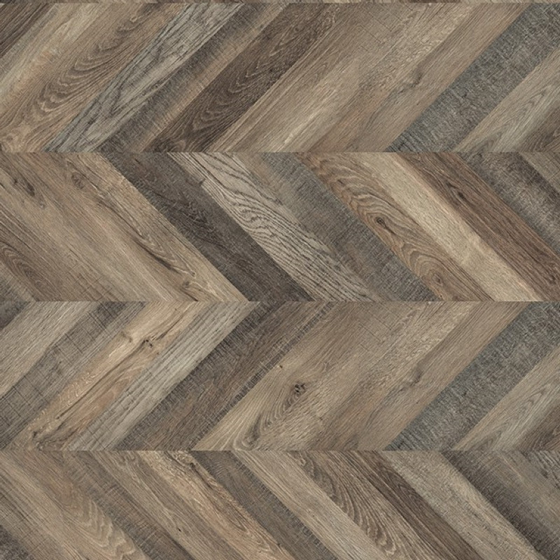 Egger Kingsize 8mm Dark Ripon Oak Laminate Chevron Flooring EPL013