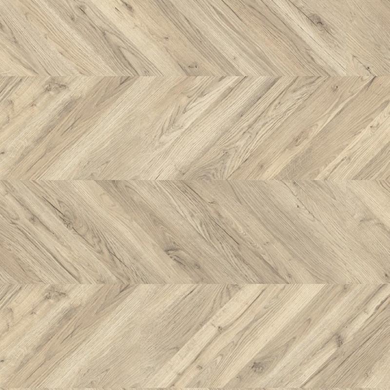 Egger Kingsize 8mm Light Rillington Oak Laminate Chevron Flooring EPL011