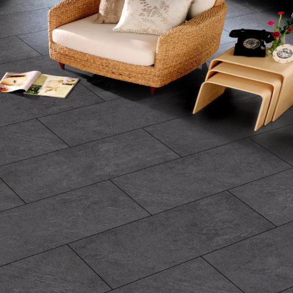 Vivant Aquastop 8mm Cardiff Tile Effect Laminate Flooring Flooring