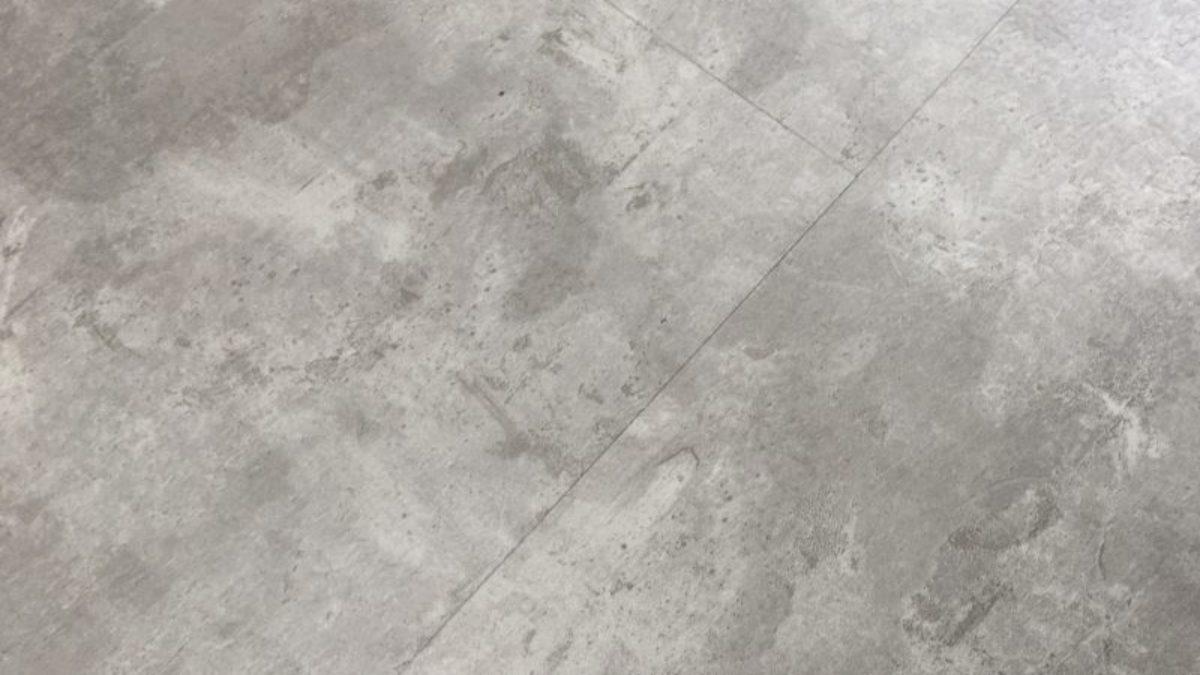 4mm Concrete Tile Effect Luxury Vinyl, Cement Effect Laminate Flooring