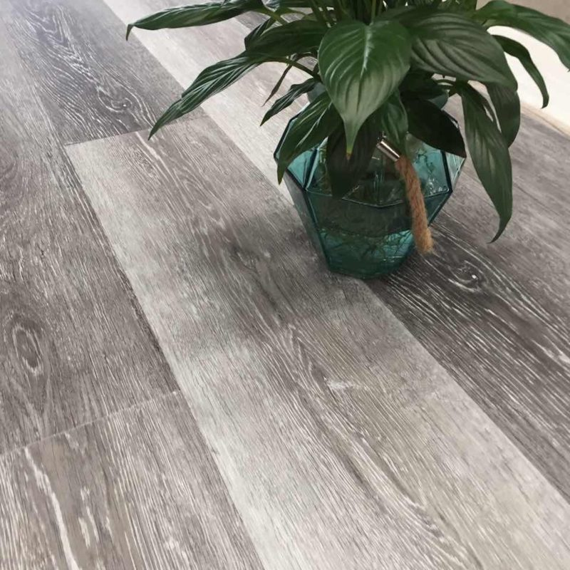 4mm Fashion Grey Effect Luxury Vinyl Click Flooring