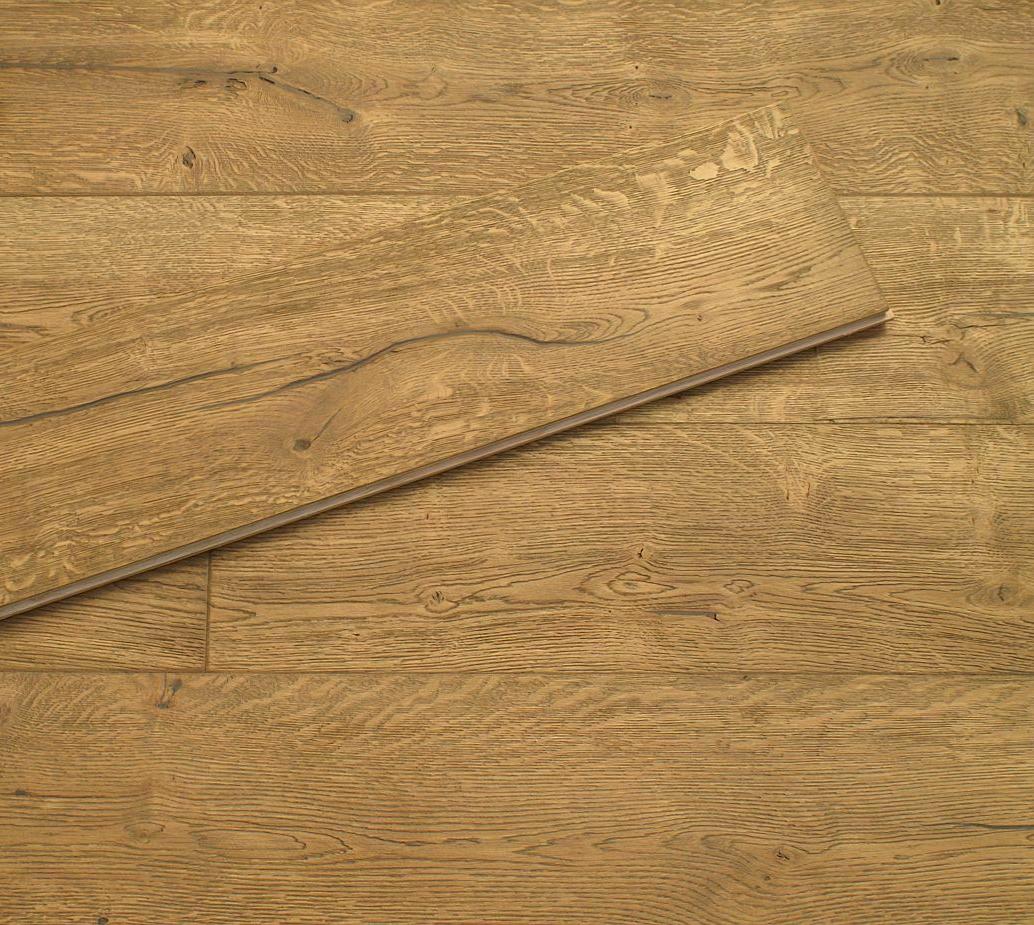 Alabama 20/6 x 190mm Distressed Hard Waxed Antique Oak Engineered Flooring