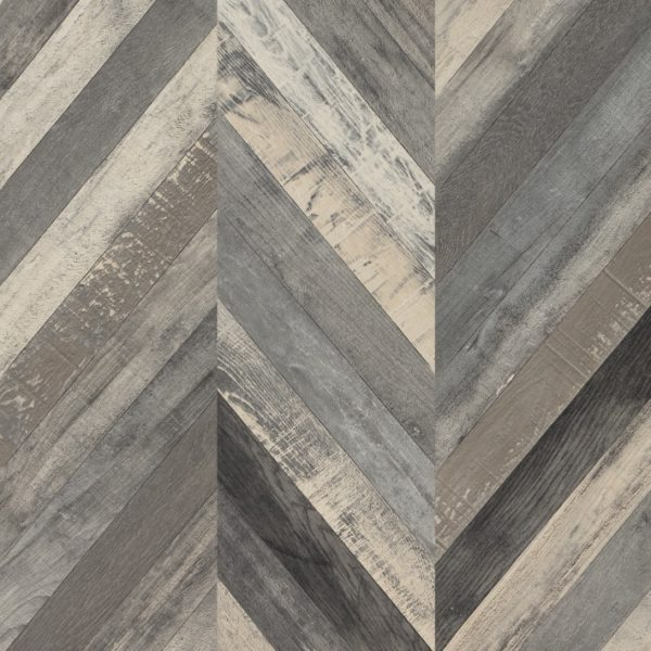 Faus 8mm Masterpiece Chevron Vintage Laminate Flooring
