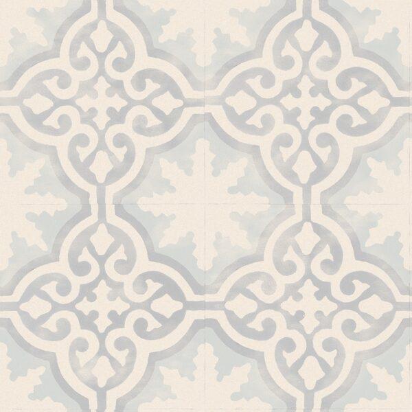 Faus 8mm Retro Victorian Tile Effect Laminate Flooring