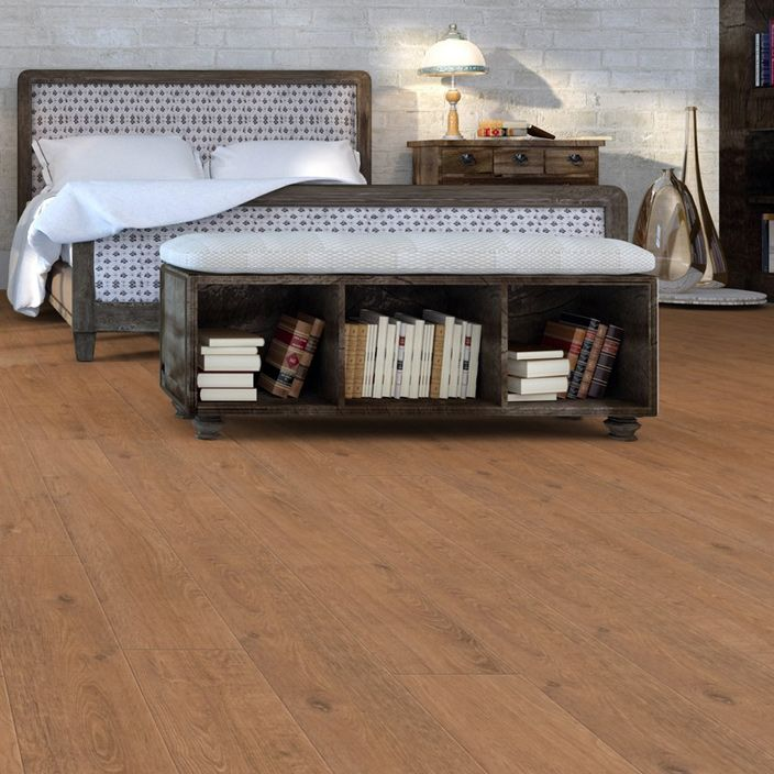 Pro 8mm Chelsea Oak Effect Luxury Vinyl Click Flooring