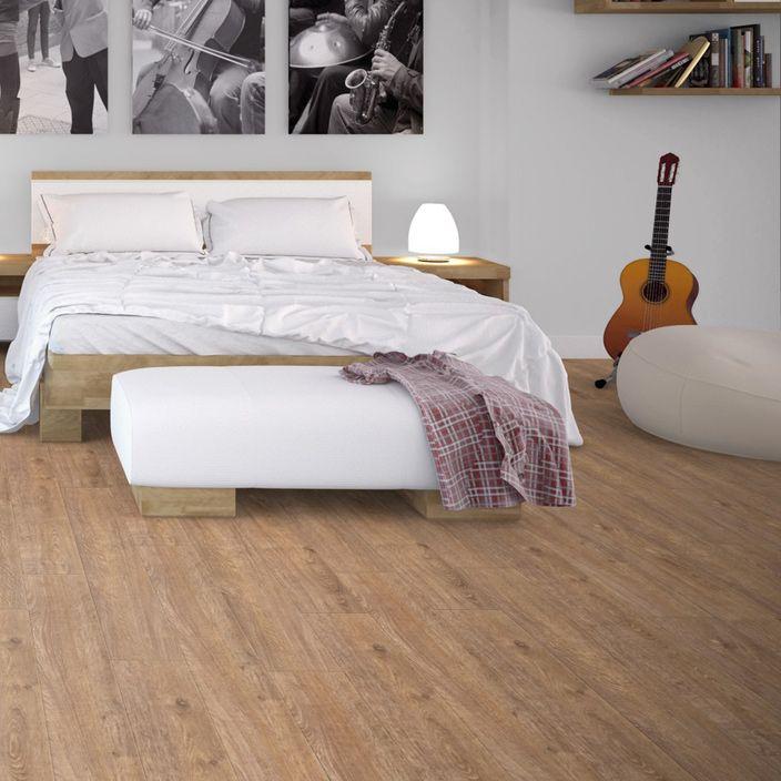 Pro 8mm Barn Fawn Effect Luxury Vinyl Click Flooring