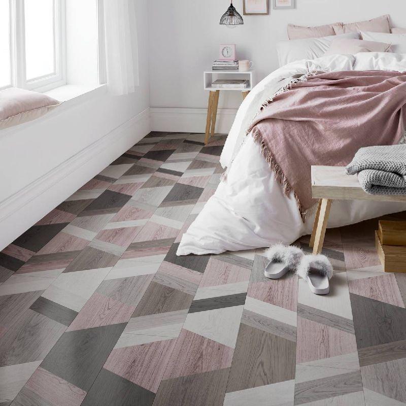 London Style 8mm Funky wriggle Blush Mix Laminate Flooring