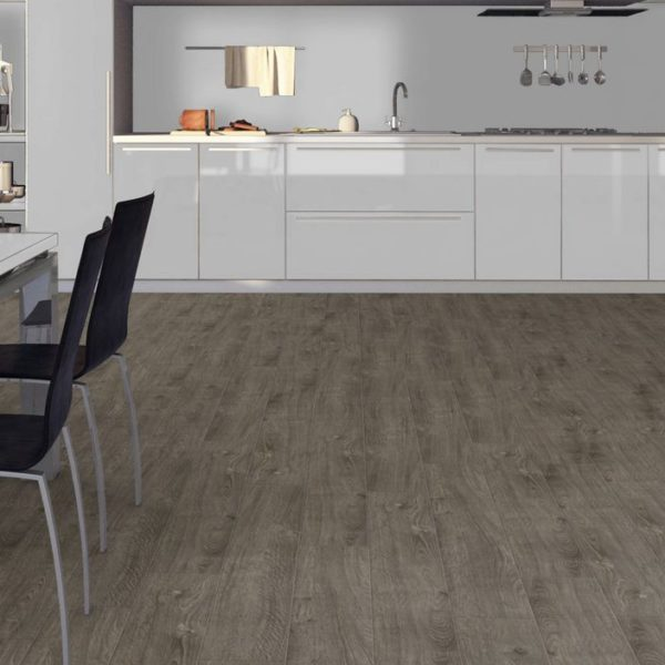 Pro 8mm Mayfair Grey Oak Effect Luxury Vinyl Click Flooring