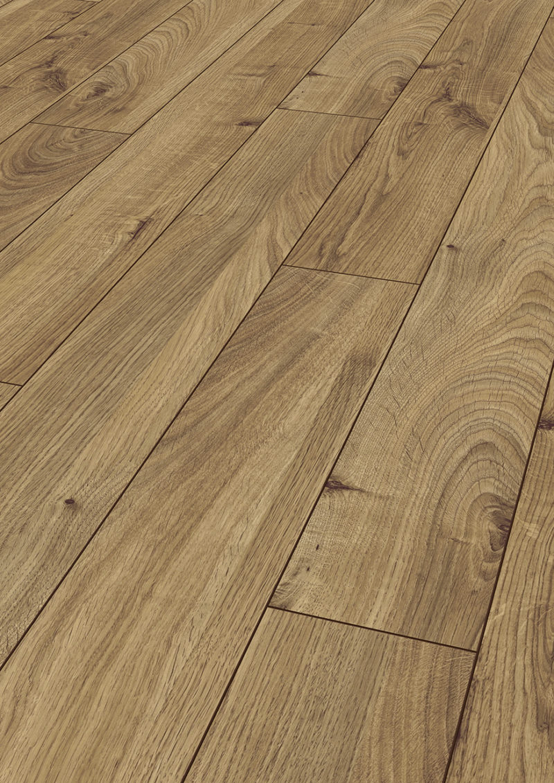 Kronotex 12mm Bronze Everest Oak 4V Laminate Flooring