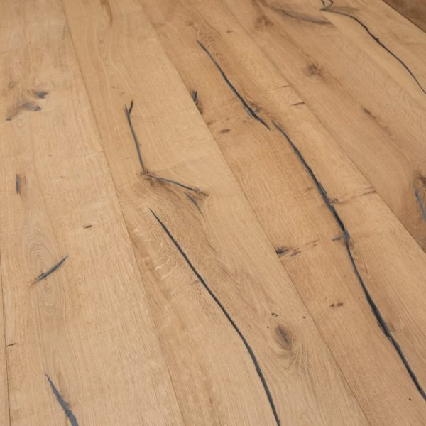 Alabama XL 20/6 x 220mm Distressed Unfinished Oak Engineered