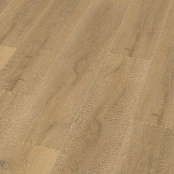 Fusion Classic 12mm Shortbread Oak 4V Groove Laminate Flooring