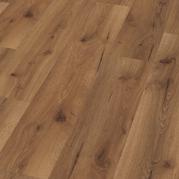 Fusion Classic 12mm Fumed Robust Oak 4V Groove Laminate Flooring