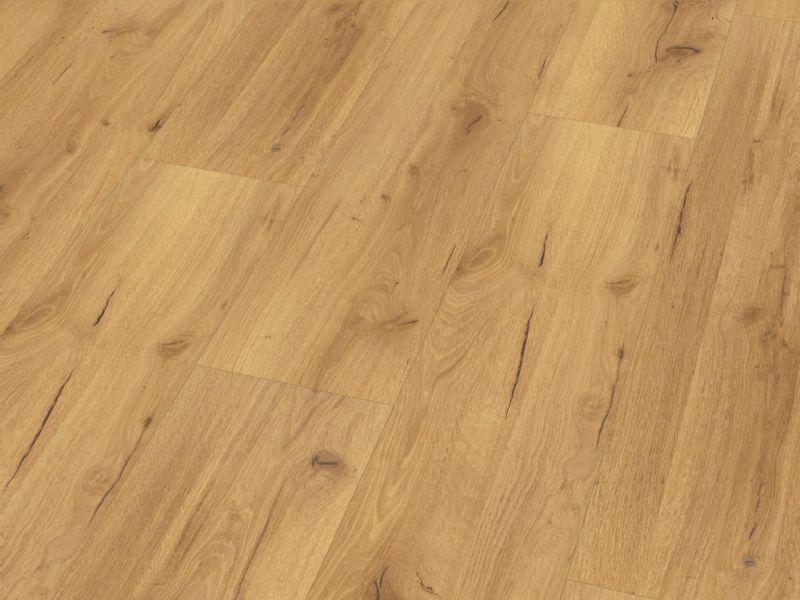 Fusion Classic 12mm Natural Robust Oak 4V Groove Laminate Flooring