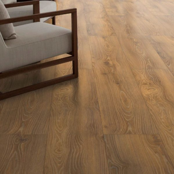 Nature XXL 12mm Golden Oak 4V Groove Laminate Flooring
