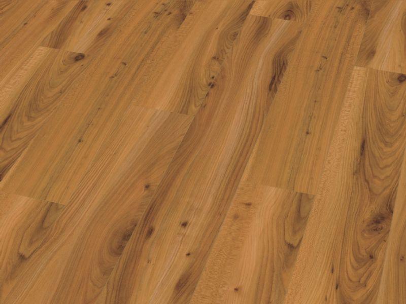 Fusion Gloss 12mm Light Walnut 4V Groove Laminate Flooring