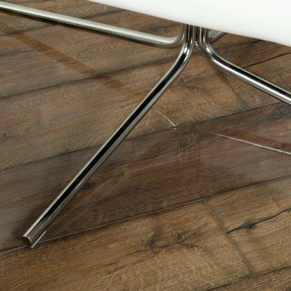 Home High Gloss 8mm Distressed Oak 4V Laminate Flooring