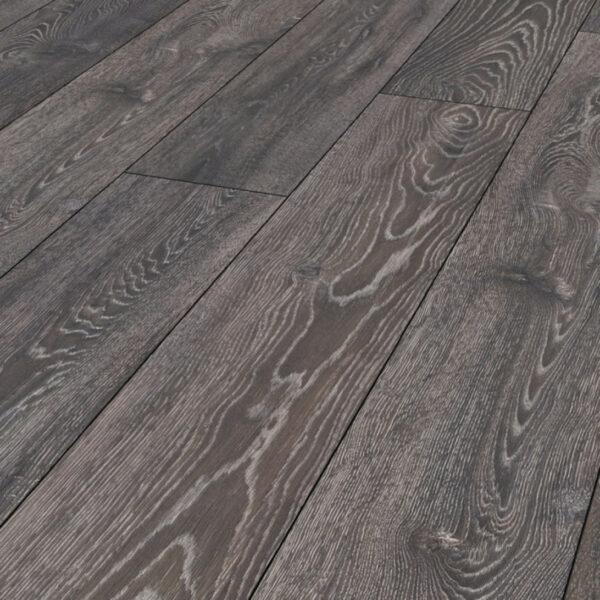 Home Elite 12mm Highland Grey Oak 4V Laminate Flooring