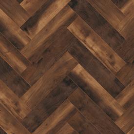 Multi Format Herringbone 10mm Ammonia Oak 4V Laminate Flooring