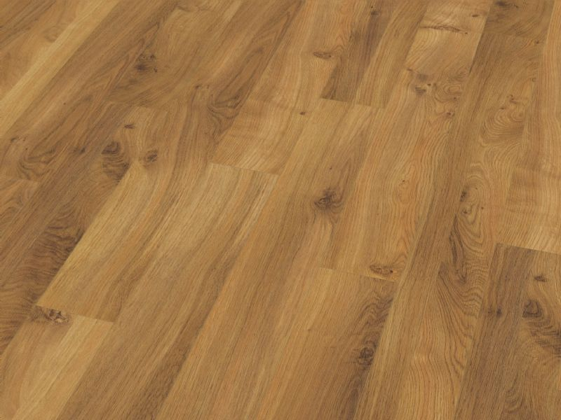 Fusion Classic 12mm Narrow Natural Oak 4V Groove Laminate Flooring